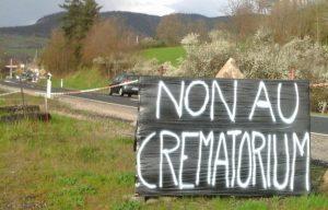 Lutte crematorium St-Hostien